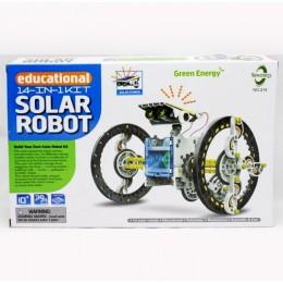 Конструктор на солнечных батареях Робот 14 в 1 CIC 21-615