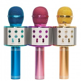 Беспроводной караоке-микрофон WSTER WS-858