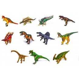 Динозавры резиновые со звуком LT359