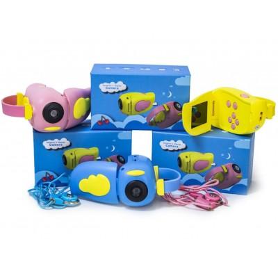 Детская видеокамера A100 желтая