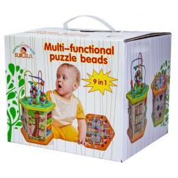 Деревянная развивающая игрушка-сортер 9 в 1
