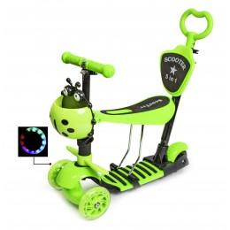 """Самокат Scooter """"Божья коровка"""" 4in1 Green"""