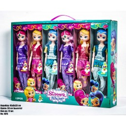 Куклы SHIMMER & SHINE 1875 в блоке