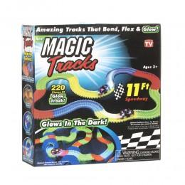 Magic Track на 3 батарейки 220 деталей - Гоночный трек
