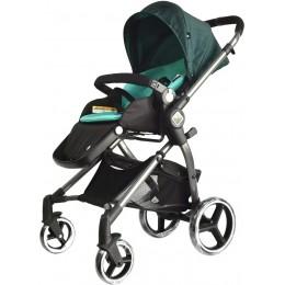 Универсальная детская коляска Evenflo Vesse Original LC839A-W8BG Зеленая