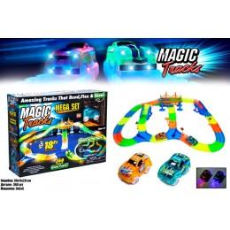 Magic Tracks 360 деталей опт на 3 батарейки Гоночный трек