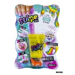 Slime Слайм блистер DIY JDY907000179 (белый/голубой/фиолетовый)