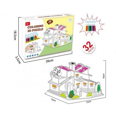 3D-конструктор Дом 8N399-8