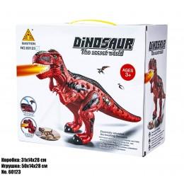 Интерактивные динозавр 60123 свет, звук, пар.