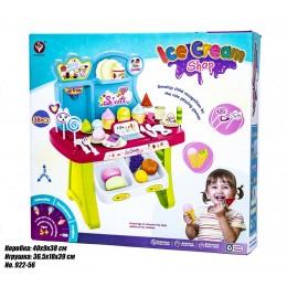 Детский прилавок сладостей голубой 922-56