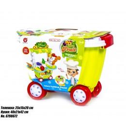 Детская тележка-кухня Фрукты 922-94 оптом