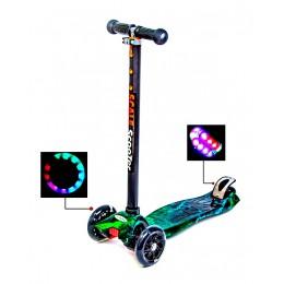 Детский самокат MAXI H20 Светящиеся колеса