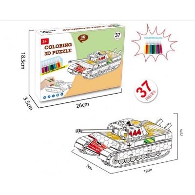 3D-конструктор Танк 8N399-11