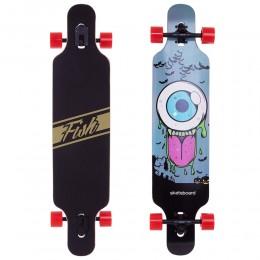 Лонгборд фрирайд Fish Skateboard Eye