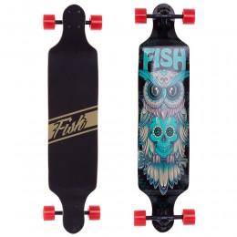 Лонгборд фрирайд Fish Skateboard Owl