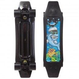 Пенни борд Fish Skateboards Duckbill Shark Черный