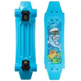 Пенни борд Fish Skateboards Duckbill Shark Синий