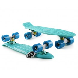 Пенни борд Fish Skateboards Mint-Blue
