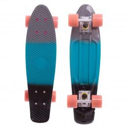 Пенни борд Fish Skateboards Градиент Blue-Grey-Black