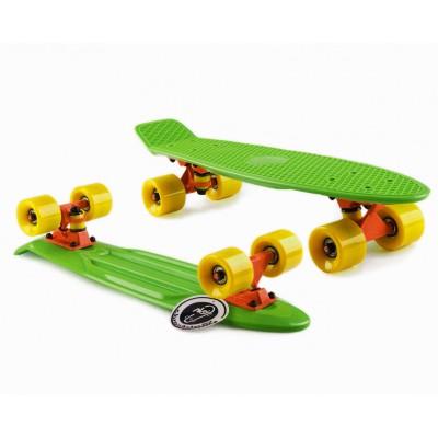 Пенни борд Fish Skateboards Green