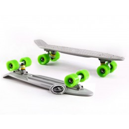 Пенни борд Fish Skateboards Grey