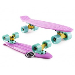 Пенни борд Fish Skateboards  Lilac (Pastel series)