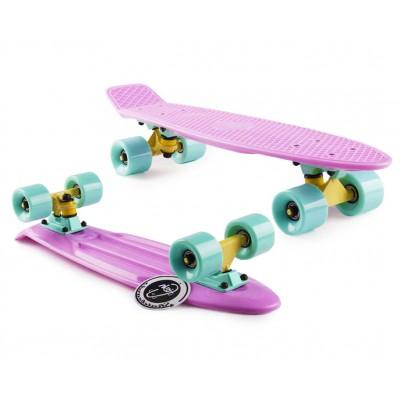 Пенни борд Fish Skateboards Lilac (Pastel series)