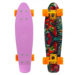 Пенни борд Fish Skateboards Tropic-Lilac