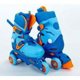 Трехколесные ролики Zelart YX-0153 Blue