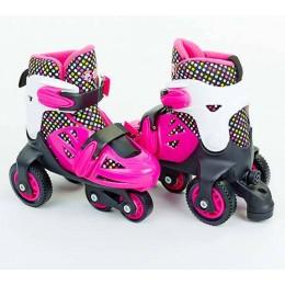 Трехколесные ролики Zelart First Rollers Pink