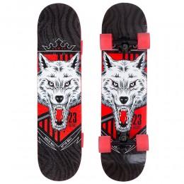 Скейтборд Zelart North Wolf