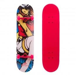 Скейтборд Zelart Girl