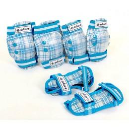 Защита Zelart Candy Голубая